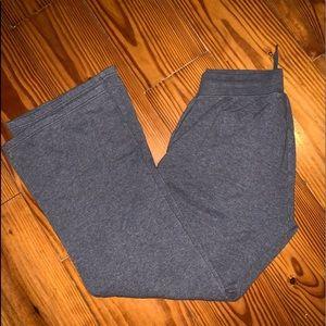 Nike grey sweatpants bootcut